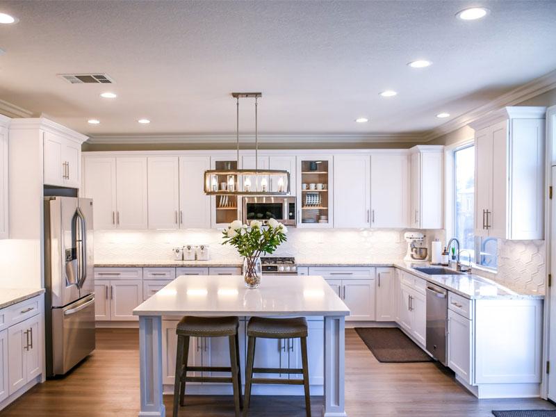 Освещение кухни