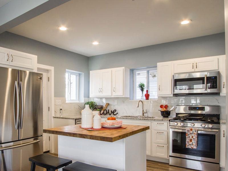 Свет на кухне
