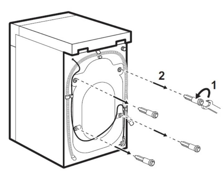 Транспортировочные болты со стиральной машины